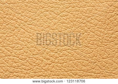 High quality genuine yellow leather texture background