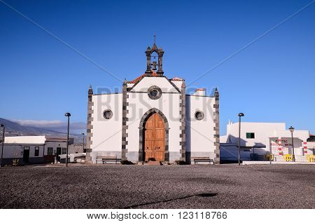 Old Vintage Catholic Church in the Canary Islands