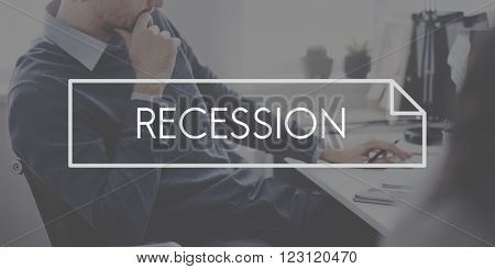 Recession Financial Depression Crisis Business Concept