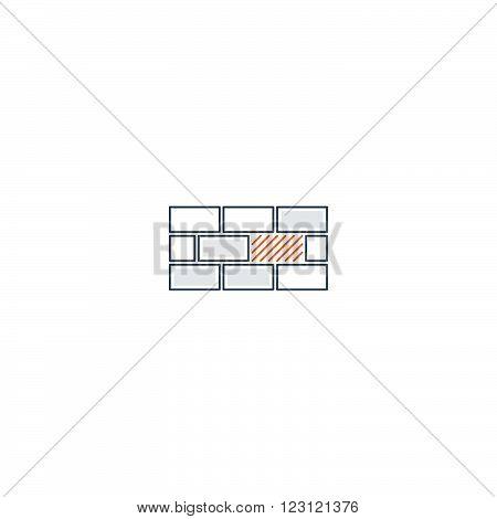 Weak spot in basement or system concept, linear design