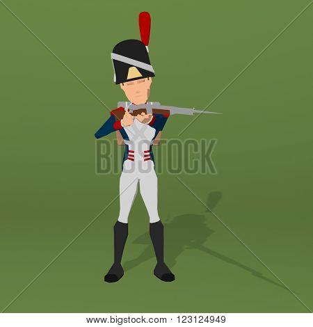 Napoleonic soldier