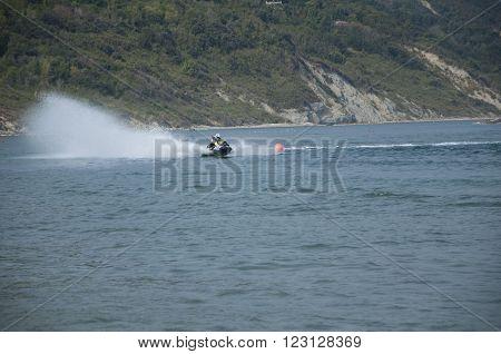 Italy Pesaro san bartolo  2013 Jet Ski race
