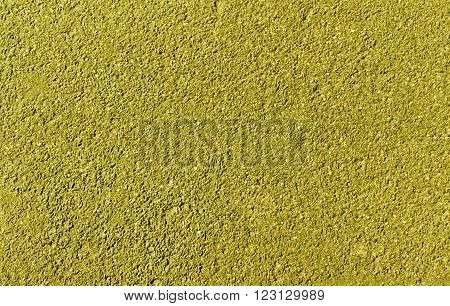 Yellow Asphalt Background And Texture.
