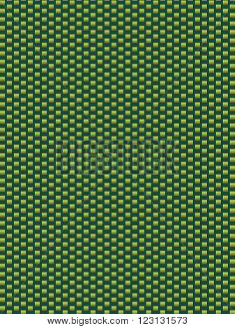 Green texture synthetic fiber geometric seamless background vector