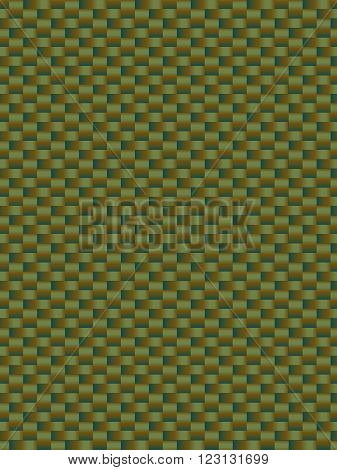 Green weave texture synthetic fiber geometric seamless background vector
