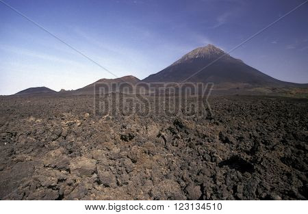 Africa Cape Verde Fogo