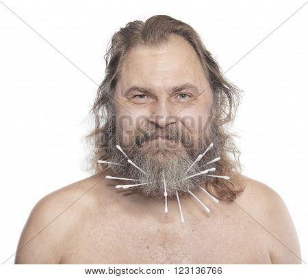 Portrait Cheerful Man