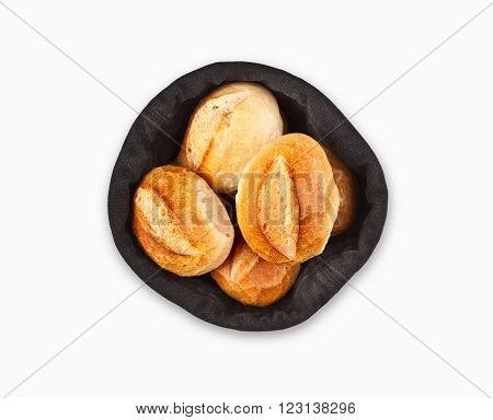 German Bread Roll Or Bun