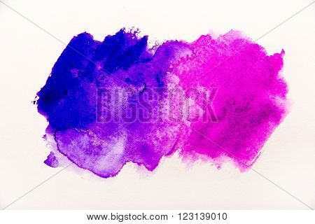 Abstract watercolor backgroundvector illustration stain watercolors colors wet on wet paper.