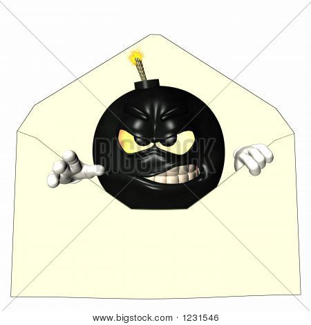 Letter Bomb Emoticon