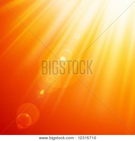 Resumen los rayos de sol