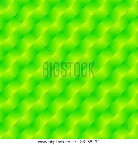 trendy decorative glossy green abstract art background