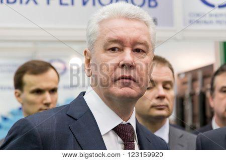 19.11.2015. RUSSIA MOSCOW. Moscow Mayor Sergei Sobyanin