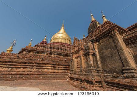 Dhamma Ya Zi Ka Pagoda in Bagan Myanmar