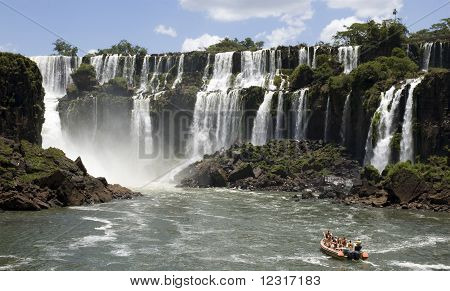 Iguazu wateralls
