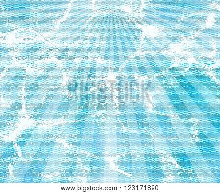 sunburst blue vector background pattern illustration design
