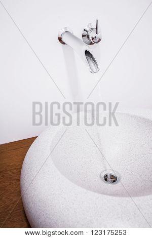 Round Modern Washbasin