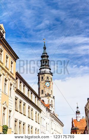 Town Hall Tower In Gorlitz