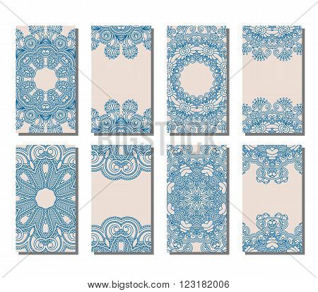 Vector Set Of Greeting Or Invitation Cards.