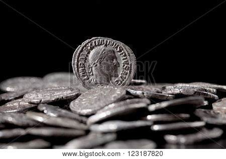 Authentic Silver Coins Of Ancient Rome