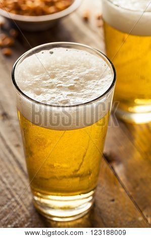 Refreshing Summer Pint Of Beer