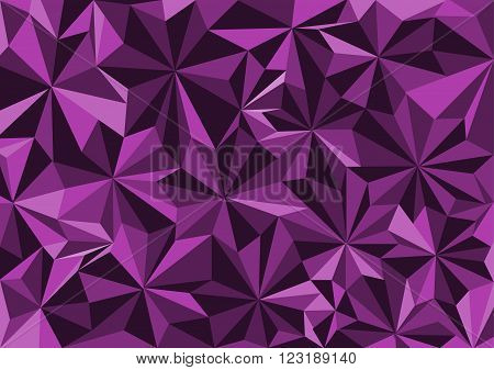 Low poly style vectorviolet low poly design low poly style illustration Abstract low poly background vector