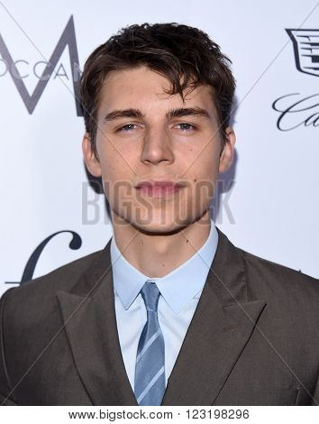 LOS ANGELES - MAR 20:  Nolan Funk arrives to the 2nd Annual Fashion Los Angeles Awards  on March 20, 2016 in Hollywood, CA.