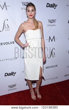 LOS ANGELES - MAR 20:  Whitney Port arrives to the 2nd Annual Fashion Los Angeles Awards  on March 20, 2016 in Hollywood, CA.