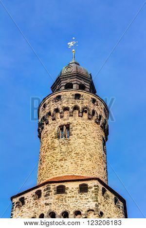 Reichenbacher tower in the old town of Gorlitz