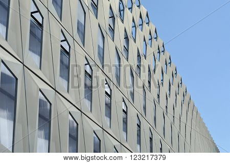 Modern Architecture Pattern Of A Stadium