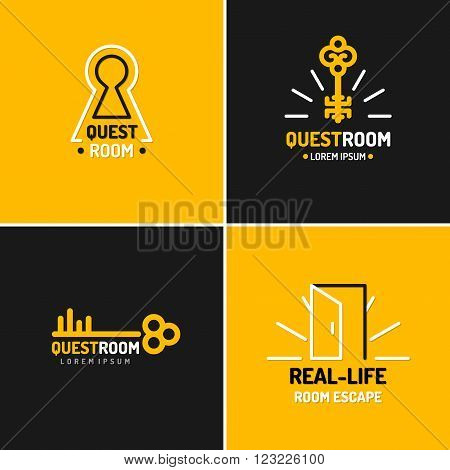 Llogo For The Quest Room.