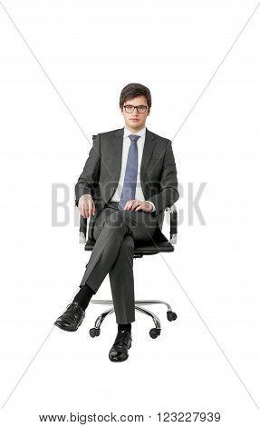 Businessman On Armchair