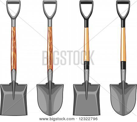 Short Handle Shovel and Spade