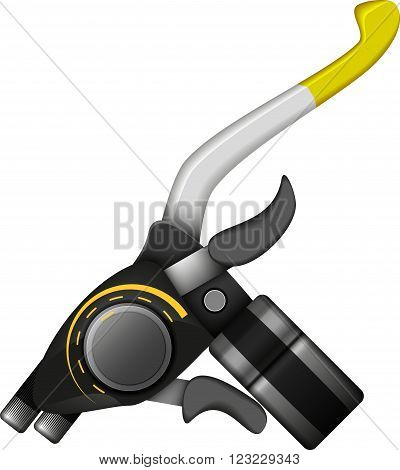 speed shifter speed shifter simple vector illustration of isolated racing element eps 10