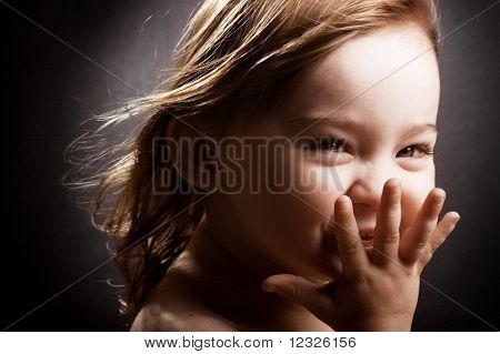 Giggling Little Girl