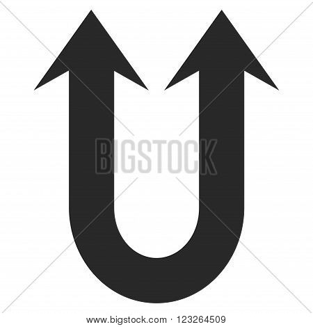 Double Forward Arrow vector icon. Double Forward Arrow icon symbol. Double Forward Arrow icon image. Double Forward Arrow icon picture. Double Forward Arrow pictogram.