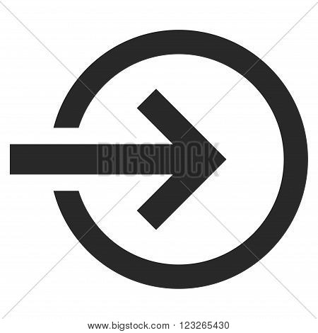 Import vector icon. Import icon symbol. Import icon image. Import icon picture. Import pictogram. Flat gray import icon. Isolated import icon graphic. Import icon illustration.