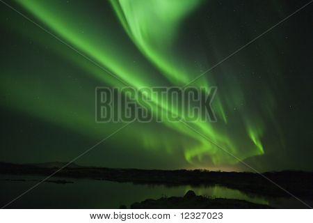 Polarlichter oder Aurora borealis