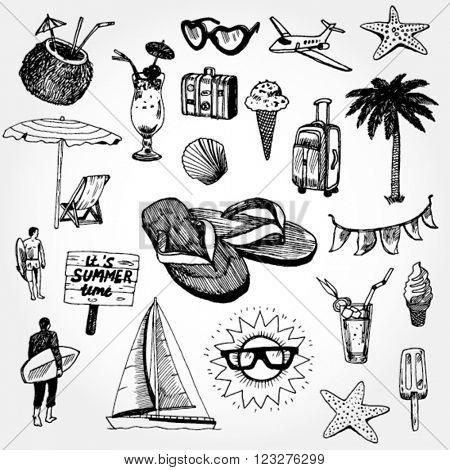 Some Doodles Summer Elements