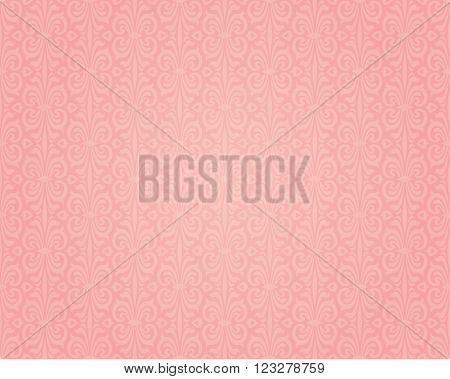 Pink colorful retro background seamless design pattern