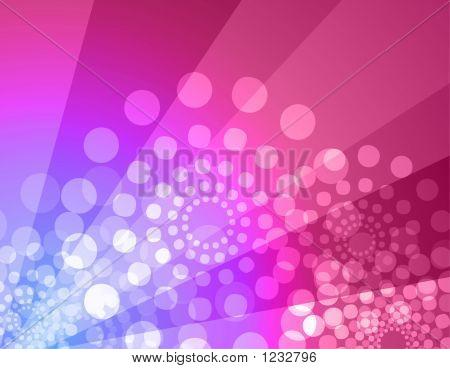 Disco Hintergrund Rosa & violett