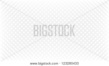 Abstract white background with grey diagonal wafer effect texture in vector