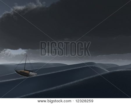 Ship At Sea
