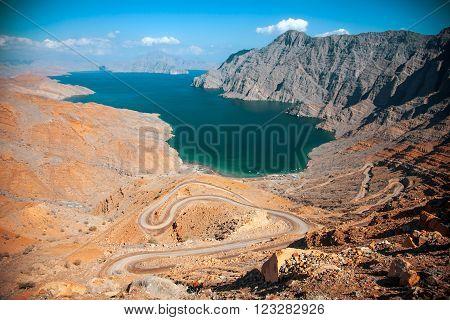 Khor Najd, near Khasab, Musandam peninsula, Oman