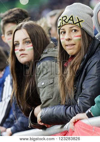 Hungary Vs. Croatia International Friendly Football Match