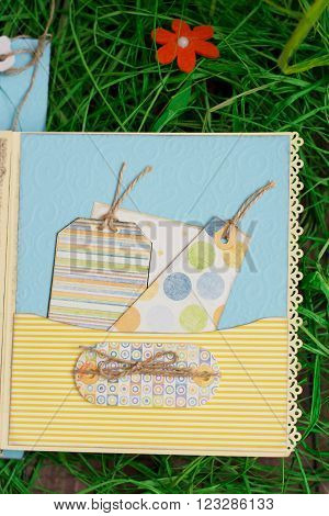 Scrapbook For Boys Handmade
