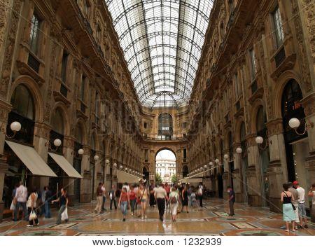 Galleria Vittorio Emanuelle In Milan