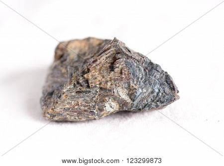 satterlyite mineral crystal sample related to shale mining