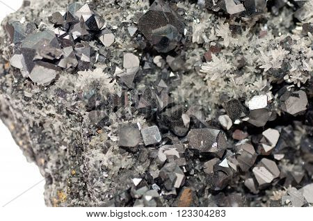 galena metallic ore mineral sample a rare earth mineral