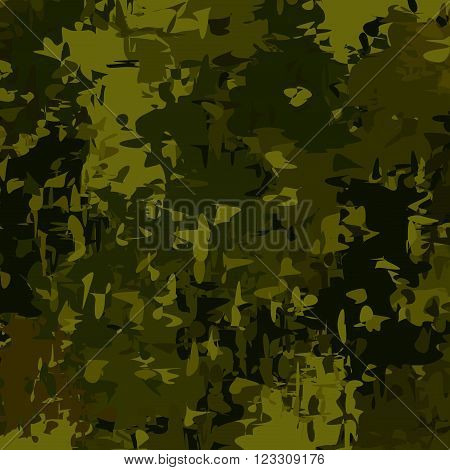 Abstract Military Camouflage Background. Camo Pattern for Army Clothing.